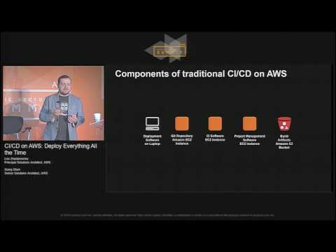 CI/CD on AWS: Deploy Everything All the Time | AWS Public Sector Summit 2016