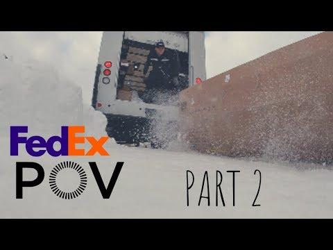 FedEx Ground Delivery Driver - POV - PART 2