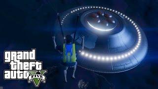 GTA 5 PS4 : UFO PADANG PASIR! RAHASIA UFO GTA 5!