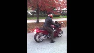 Zx11 burnout walk around and flyby