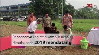 Jokowi Letakkan Batu Pertama UIII di Depok