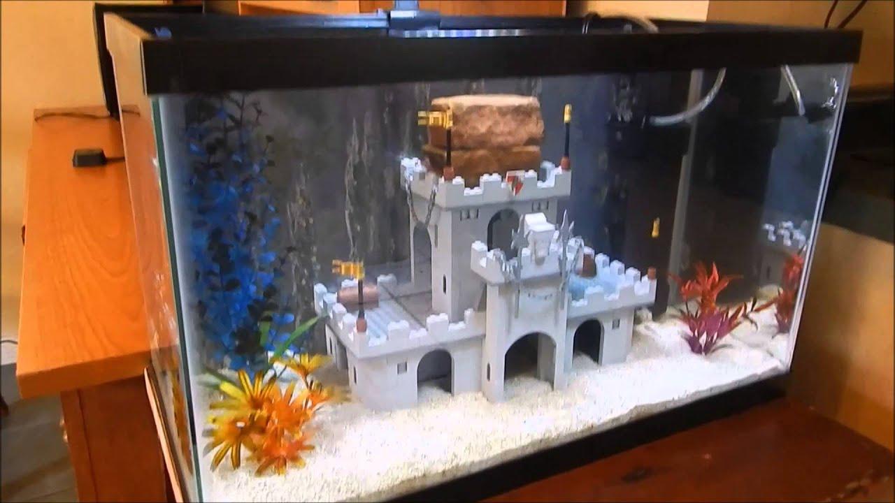 How To Make Fish Tank Decorations Aquarium Shipwreck