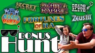 21 SLOT FEATURES! - 3000€ Bonus Hunt Results.