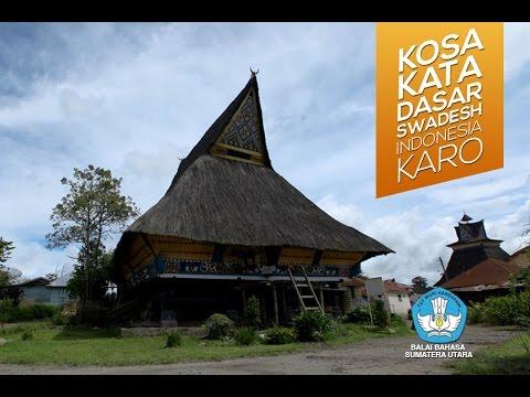 Belajar Bahasa Karo, Kosa Kata Dasar Swadesh Indonesia