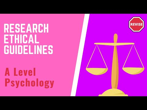 As Psychology - Ethical Guidelines