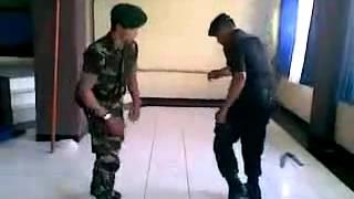 Dance TNI Vs Brimob