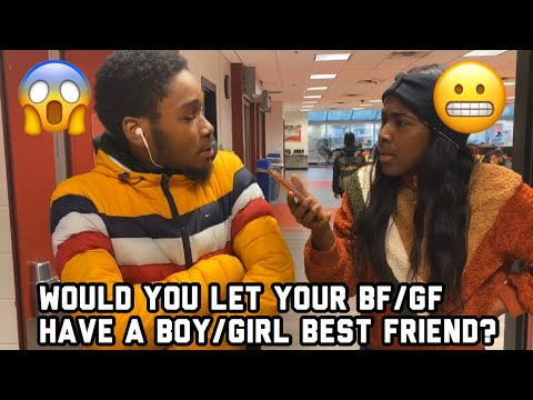 Would You Let Your Girl/Boyfriend Have A Girl/Boy Bestfriend? | Public Interview | A TheJawn