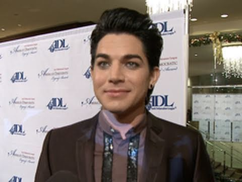 Adam Lambert  at the ADL Event Honoring Steven Spielberg