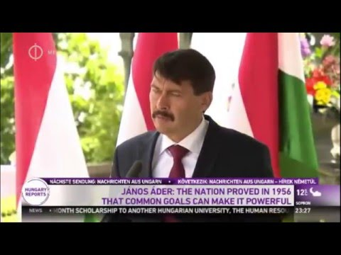 Janos Ader: Common Goals Of Hungarians Can Make Nation Powerful