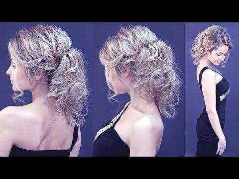 Hairstyle for long hair - Вечерняя причёска Хвост - Без лака - Hairstyles by REM