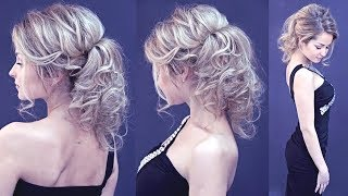 Hairstyle for long hair - Вечерняя причёска