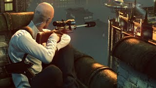 Awesome Long Range SNIPER SHOT from Hitman Sniper Challenge Game on PC