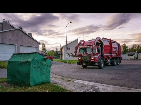 City of Anchorage Solid Waste Systems Wittke Curl Fork Front Loader