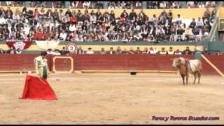 Corrida de Toros Riobamba 2013 - Sábado 20 de Abril