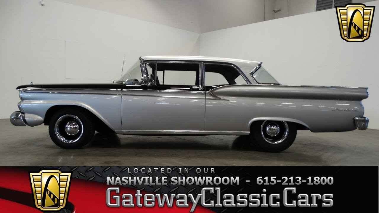 1959 ford fairlane gateway classic cars of nashville 199