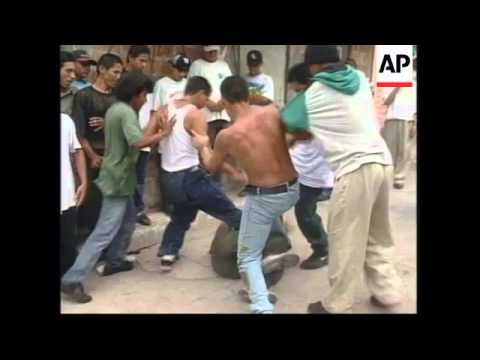 EL SALVADOR: REHABILITATION PROGRAMME FOR GANG MEMBERS EXPANDED