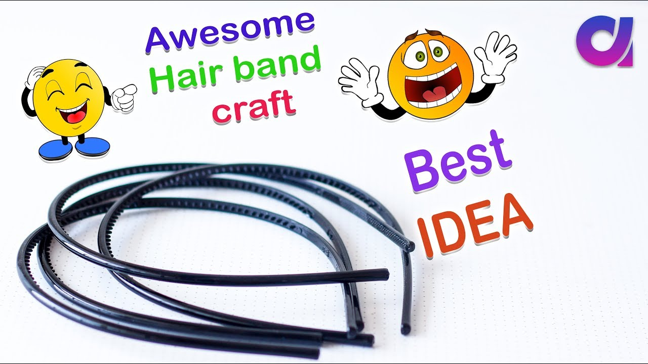 Best Out Of Waste Hair band craft ideas| DIY HOME DECOR | # DIY Arts ...