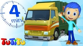 TuTiTu Specials | Garbage Truck Toy and Song | Toys and Songs for Children