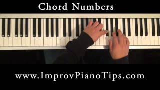 How to play piano The Basics (Chord Numbers)