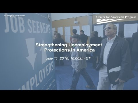 Strengthening Unemployment Protections in America