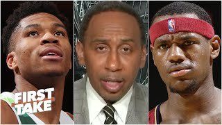 Stephen A. on LeBron saying he can't relate to Giannis' contract situation | First Take