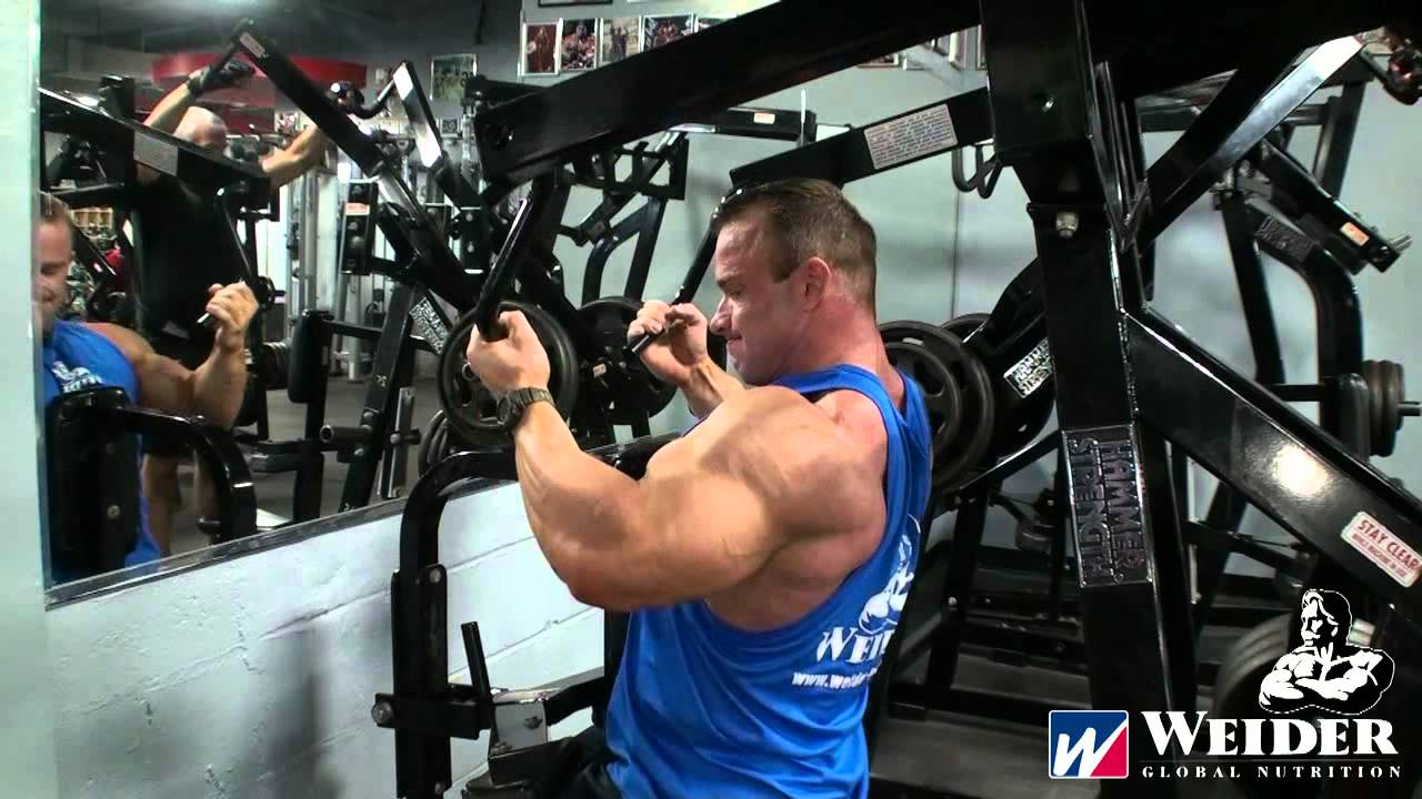 Ronny Rockel Back Workout Bev Francis Powerhouse Gym New