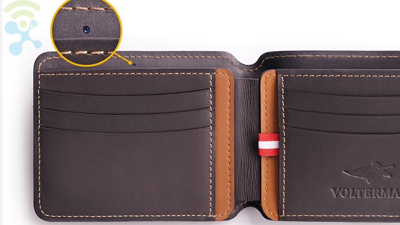 nuovo di zecca 05b23 af301 Volterman Smart Wallet - Built-in Powerbank,Global GPS Tracking, Anti-Thief  Camera.
