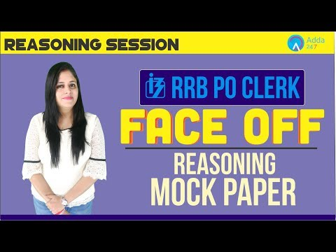RRB PO/Clerk | RRB MOCK PAPER | RRB FACE OFF | Reasoning | Akanksha Ma'am
