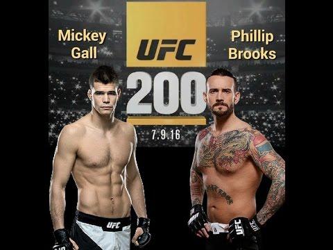 UFC 200 Card