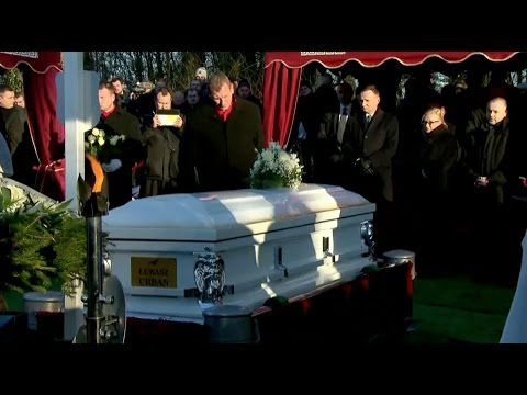 Poland Holds Funeral for Truck Driver Killed in Berlin Christmas Market Attack
