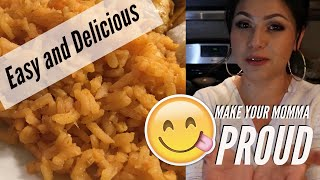 Cooking with Me: How I Make Spanish Rice