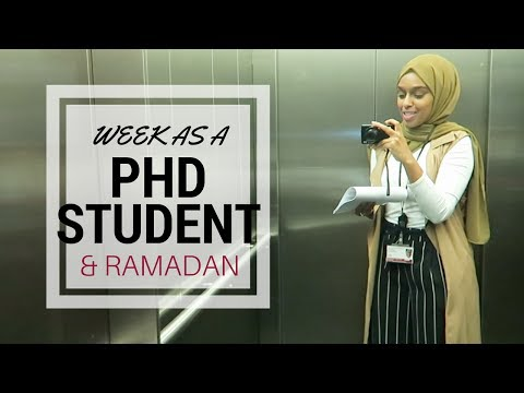 Goodbye Ramadan, Eid Mubarak 2017 | A Week As A PhD Student #5