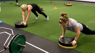 Death circuit with hot rugby girls