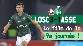 Lille 3-1 ASSE: le film du match