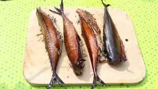 Рыба горячего копчения. Рецепт маринования скумбрии. Hot smoked fish