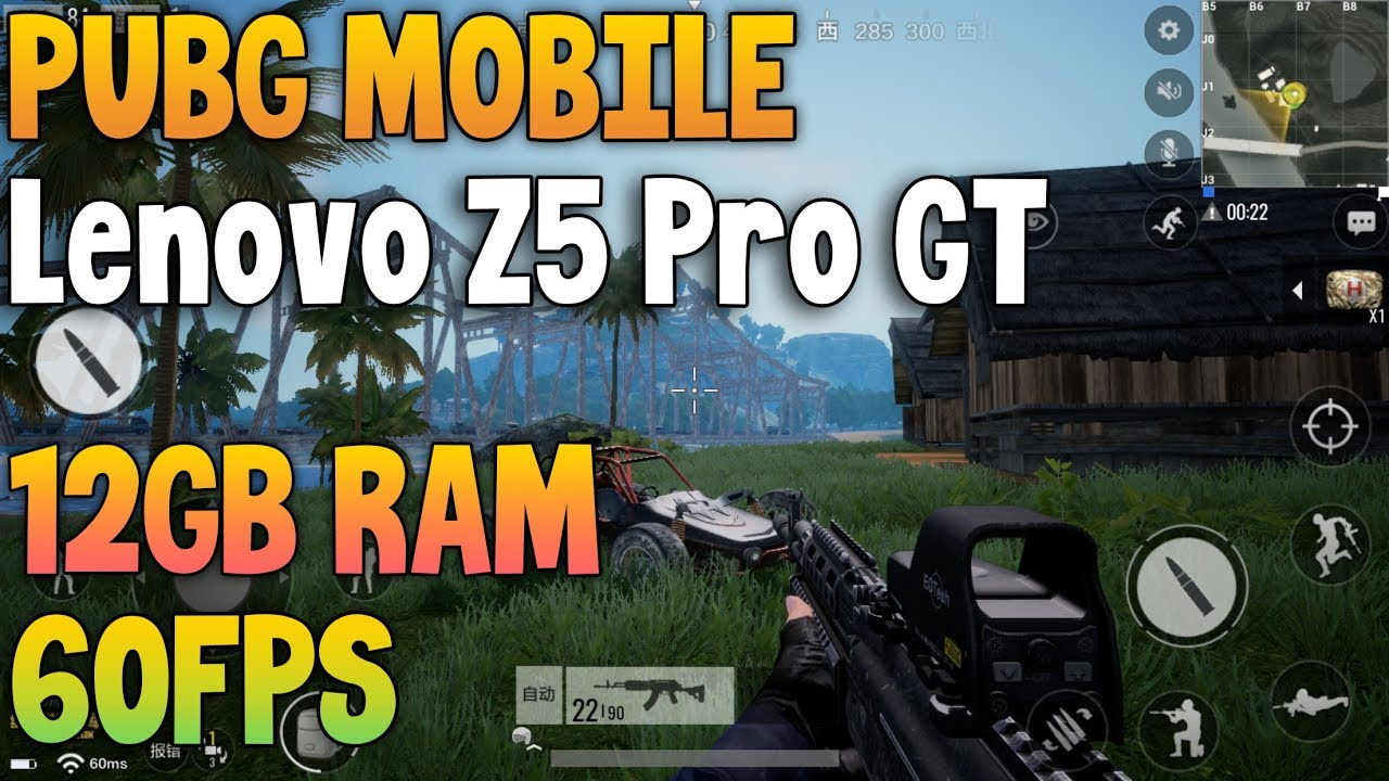 PUBG Mobile on Lenovo Z5 Pro GT 12GB RAM