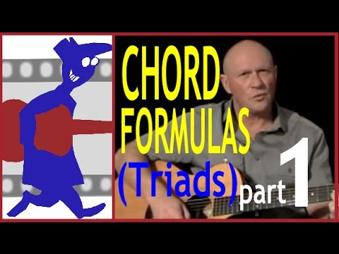 Chord Formulas (Triads) - Part 1