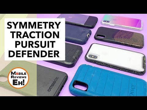 The BEST Otterbox cases for the iPhone Xs - Traction vs Pursuit vs Symmetry vs Defender vs Pro