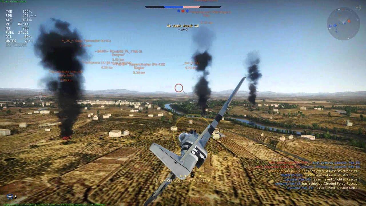 War Thunder American Planes gameplay - Arcade battle - Too good team :/ - YouTube