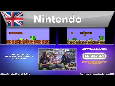 Nintendo UK Live + Retro Gamer - Nintendo Classic Mini: Nintendo Entertainment System
