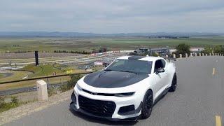 Camaro ZL1 1LE Sonoma Raceway 1:45.57 in Traffic (stock w/ street tires - Me Driving)