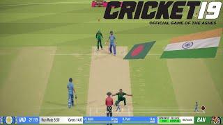 Only T20 India vs Bangladesh Cricket 19 1080p HD Ultra Graphics Gameplay