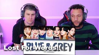 EMOTIONAL REACTION TO BTS Blue & Grey Lyrics (방탄소년단 Blue…