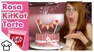 ROSA KitKat Torte // Kupferfuchs KüchenChaos