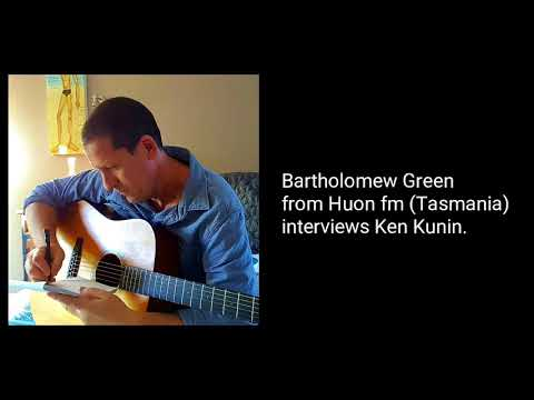 Ken Kunin radio interview Huon fm Tasmania