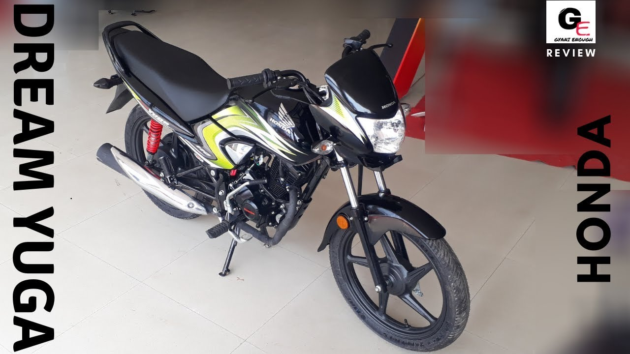 2018 Honda Dream Yuga Detailed Review Price Specs Features Youtube