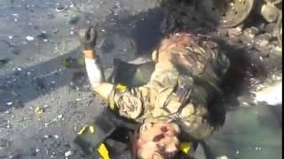 18++++ Шахтерск То, что осталось в буквальном смысле от украинских оккупантов видео 31 07 2014г