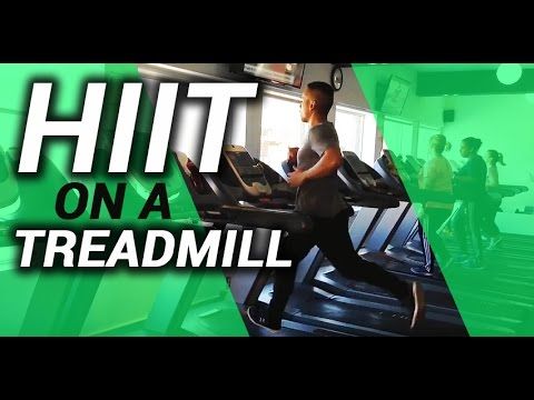 Getting ready for a zombie apocalypse HIIT Treadmill Training