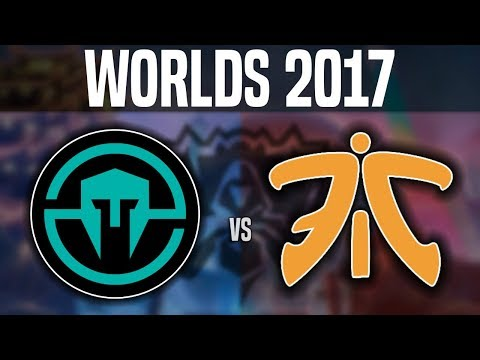 IMT vs FNC - Worlds 2017 Group Stage Day 2 - Immortals vs Fnatic | Worlds 2017