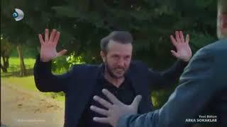 Arka Sokaklar 457  Bölüm   Mesut Turan'i Yakaliyor ve Dövuyor!